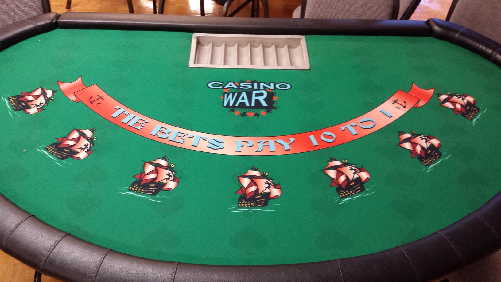 Tricks to win casino war